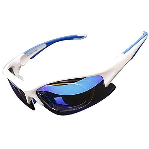 ZKAMUYLC SonnenbrilleProfessionelle Radfahren Brille Outdoor Sports Radfahren Brillen Rennrad Mountainbike Radfahren Sonnenbrille UV400 TR90 Gafas Ciclismo