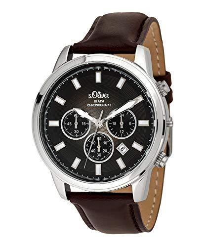 s.Oliver SO-3684-LC Montre chronographe pour Homme