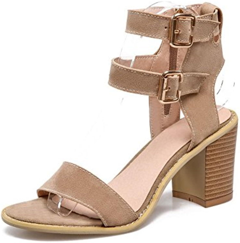 Adee Ladies ankle-cuff dance-character esmerilado Sandalias -