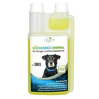 Geruchsneutralisierer für Hunde – natürlicher Entferner von Urin-Geruch und Hundeplatz-Reinigungsmittel (0,5 Liter Konzentrat ergeben 25 Liter gebrauchsfertigen Urin Bio-Reiniger / Geruchskiller)