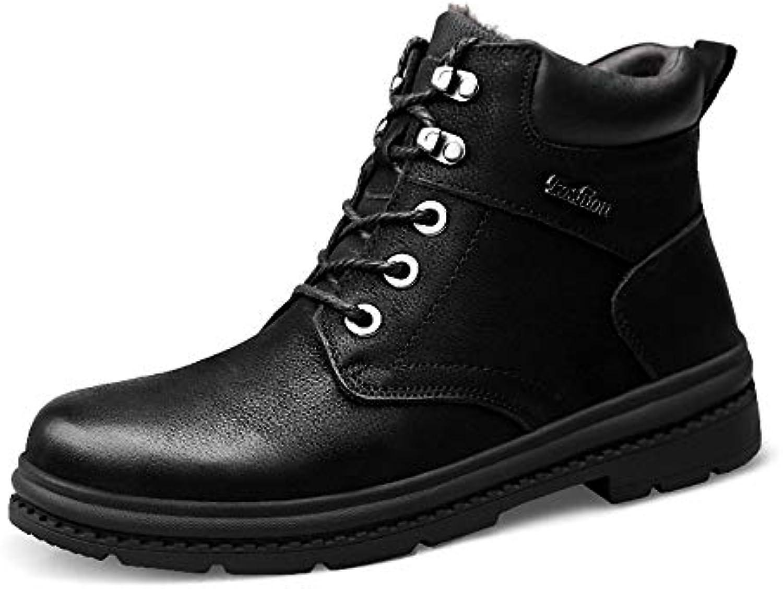 Xiazhi-scarpe, Stivali da Lavoro alla Caviglia da Uomo, Moda Casual Invernale Confortevole con Felpa Impermeabile... | A Basso Costo  | Maschio/Ragazze Scarpa