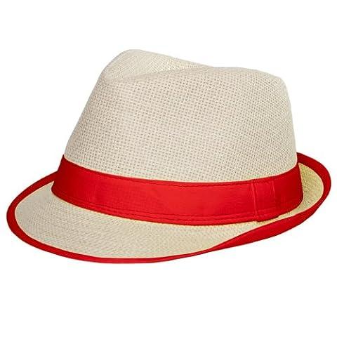 CASPAR - Panama unisexe / chapeau avec bords colorés -