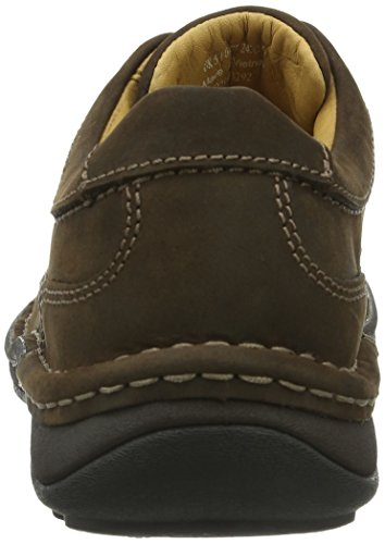 Clarks Nature Three 20340682, Scarpe stringate basse uomo Marrone (Ebony Oily)