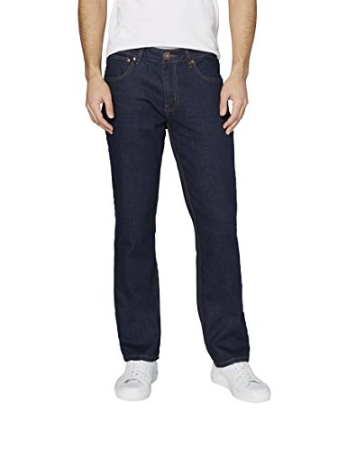 Colorado Denim Herren Jeans Classic Fit Zertifizierung: GOTS Organic Cotton Jeanshose, Blau (Rinsed 202), W44/L32 (Herstellergröße: 44)