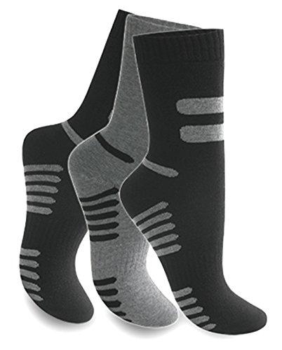 6 Paar Herren Thermosocken Warme Dicke Winter Socken Mehrfarbig Gr. 39-42