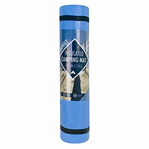 INSULATED CAMPING MAT/ROLL /YOGA MAT Blue by