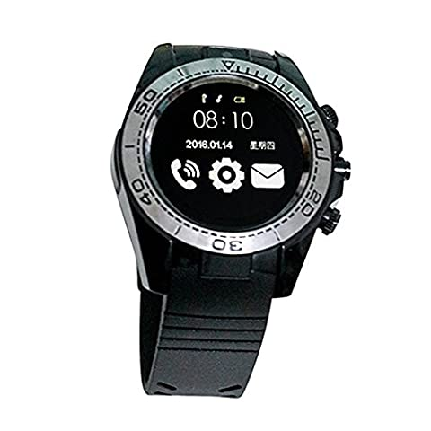 Smart Bluetooth Watch Silicone Strap and Front Camera Pixel