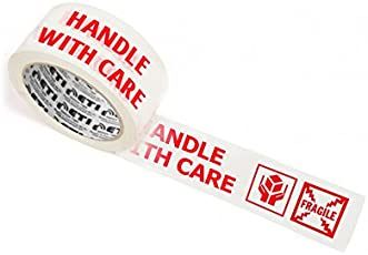 ETI Cello Tape 2 Inch 65M (Handle with Care Fragile Tape Printed)