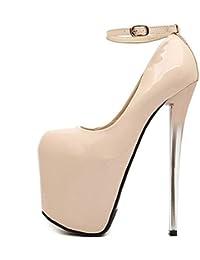 Amazon.es  nuevo - 12 y más   Zapatos de tacón   Zapatos para mujer ... 4e673a42f182