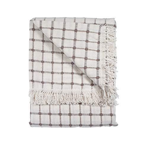 Chiara Rose Türkische Baumwolle Decke hautfarben