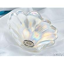 Concha bautizo PERSONALIZADA cristal nacarado CONCHAS bautismales baratas