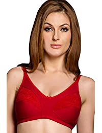 Seduct Opera Apple Red Cut & Sew Non-Padded & Non-wired Bra