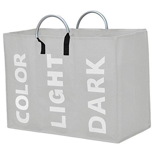 large-laundry-basket-bag-bin-storage-hamper-for-all-colour-washing-3-compartment-beige