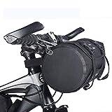 Wghz Zaino Borsa da Bici Borsa da Sella Borse da Bici Impermeabili Portapacchi Bauletto Touring Pack Manubrio da Bici Borsa Anteriore Superiore