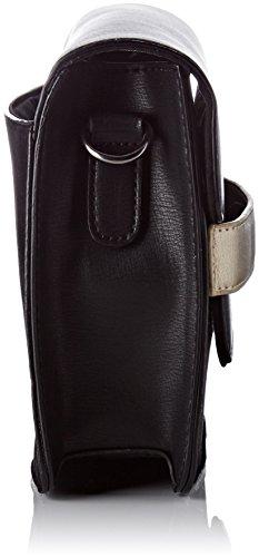 Lollipops Damen Bcity Shoulder Schultertasche, 6x19x26 centimeters Schwarz (Black)
