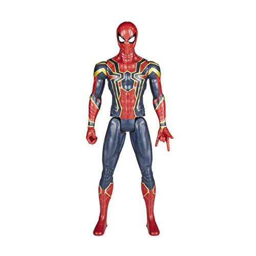 The Avengers Avengers Marvel Infinity War Titan Hero Power FX - Figura de araña de hierro