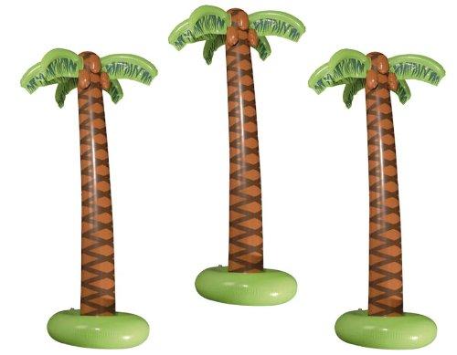 aufblasbare Palme 3er Set Palmen