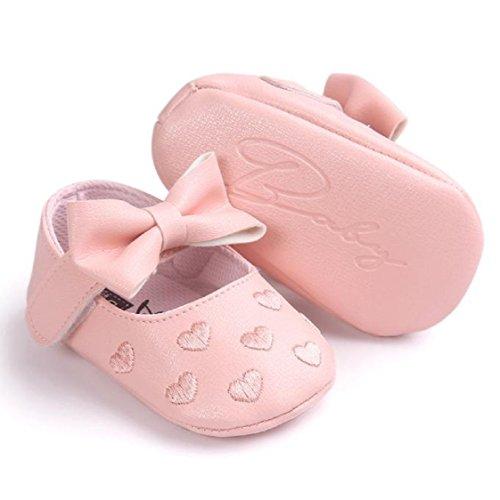 11 Sapatilha De Anti Macio Ouro Rosa Única Couro Bowknot Bebê Vovotrade De derrapante Criança Sapatos tamanho w1XOq7Tgc