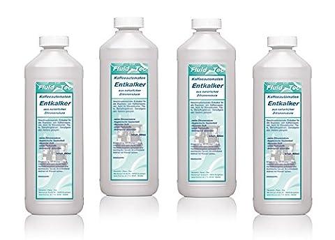 4 x 500ml/2 Liter Fluid Tec Universal Flüssig Entkalker für