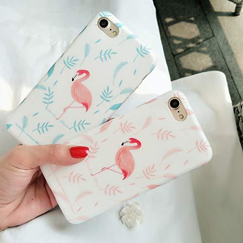 SUNHAO iPhone 6 7 8 Plus/xsr/max/Matte telefonkasten/Flamingo/silikon/ultradünne/Paar Modelle