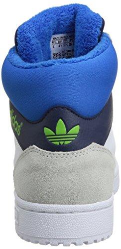 Criança Por Crianças Top K Sneakers M25274 Branco Sapatos Jogo De Adidas Altos Unisex xFTwZTq