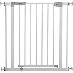 HAUCK - Porte de sécurité Open N Stop - 75-80 sans extension - Blanc