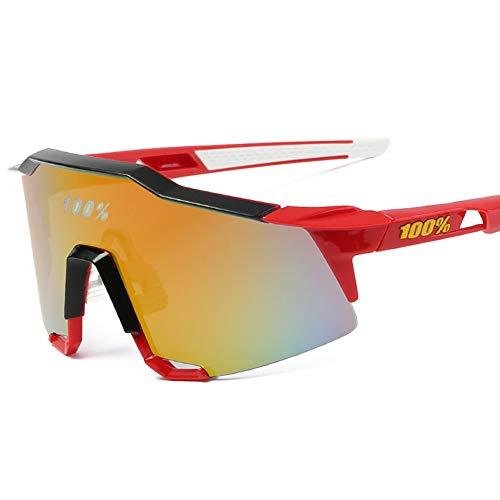 JIGAN Polarisierte Sport-Sonnenbrille, für Männer, Frauen, Fahrrad-Brille, zum Fahren, Radfahren, Laufen, Angeln, Golf, Baseball, Outdoor-Brillen,B