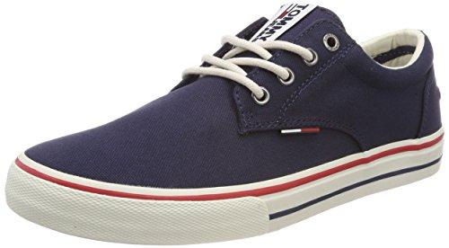 Tommy Hilfiger Herren Textile Sneaker, Blau (006 / INK), 42 EU