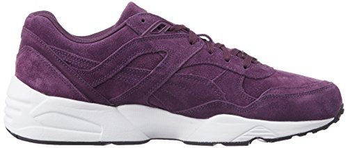 Puma R698 Trinomic 359392-01 Chaussures Hommes ITALIAN PLUM-WHITE-BLACK