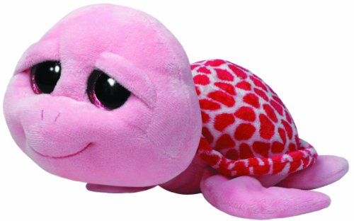Beanie Boo Turtle - Shellby - Pink - 42cm 16""