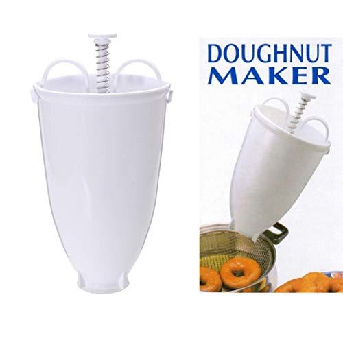 Molde de Rosquilla Donut Fabricante Máquina de Donut Plastico Antiadherentes Donut Maker Machine Mold Kitchen Pastry Baking DIY Tool-Sencillo Vida