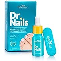 Belle Azul Dr.Nails fórmula anti hongos para uñas 10ml con aceite de ARGÁN ORGÁNICO PURO para conseguir unas uñas saludables de nuevo