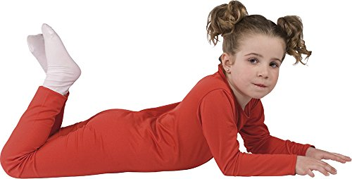 Imagen de rubie's  disfraz con mono elástico, para niños, talla s, color rojo 503025