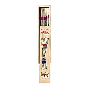 Juego de Mikado, pequeño en caja de madera