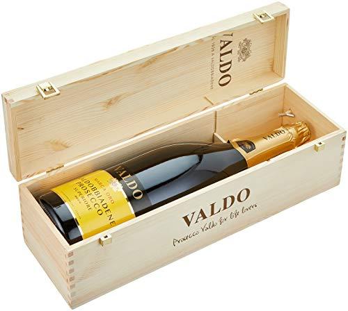 Valdo Prosecco Marca Oro DOCG Doppelmagnum mit Holzkiste (1 x 3l)
