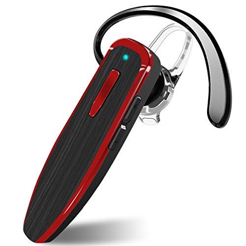 Auricolare bluetooth con microfono, cancellazione del rumore, auricolari wireless dokpav, chiamata a mani libere, 24 ore di riproduzione, per ios e telefoni cellulari android, per auto, per la guida, per lo sport, per l'ufficio