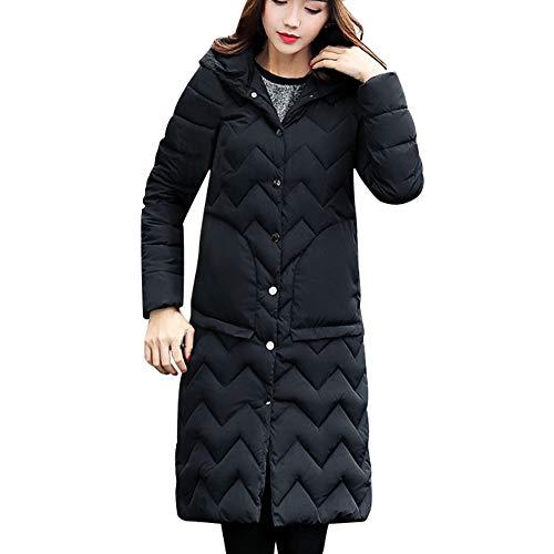 MIRRAY Damen Winter Warme Lange Mantel Lange Jacken -