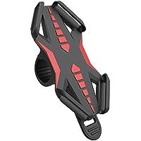 Handyhalterung Fahrrad, GVDV Letdooo Verstellbare Universal Geräte-Halterung für Fahrradlenker, Drehbar, Handy-Halterung für Doppelten Schutz für iPhone/Samsung/Blackberry/HTC/GPS