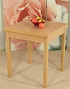 Auszugtisch buche massivholz natur esszimmertisch tisch for Buche esszimmertisch