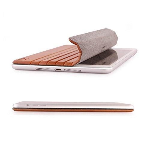 Woodcessories - EcoGuard iPad Case - Premium Design Cover, Hülle für das iPad Air 1 & 2 aus echtem Holz (Kirsche)