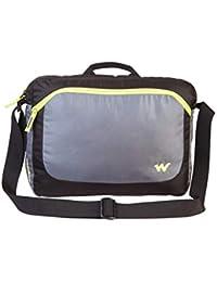 3800a86639d4 Wildcraft Polyester Black Messenger Bag (Courier 2   Wildcraft   Black 2)