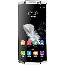 """Oukitel K10000 4G Smartphone (Android 5.1 Lollipop, Super Gran Capacidad 10000mAh, 5.5"""" MT6735 720p, 2GB RAM, 16GB ROM, Cámara de 13MP Cuerpo de Aleación de Aluminio)"""