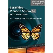 Pinnacle Studio 16 Lernvideo - Disc Menü: Teil 3 der Pinnacle Studio 16 online Lernvideo Serie: Alle Funktionen und Möglichkeiten der Disc Menü ... Mit komplexen Animationen, mehreren Menüs uvm