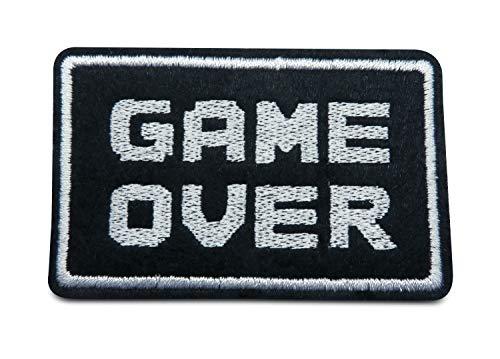 Finally Home Game Over Bügelbild Patch zum Aufbügeln | Patches, - Mario Bros Toad Kind Kostüm