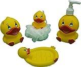 Wishkey Duck character bathroom set for kids Bath Toy