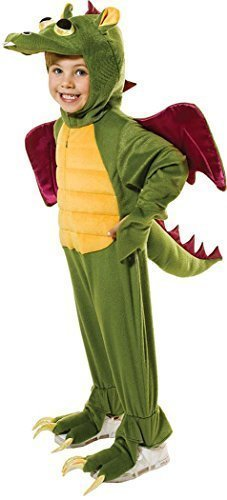 Kinder Fancy Kleid Party Outfit Buch, Woche Tag Wild Jungle Animal Drachen (Fancy Book Kostüme Dress Jungle)