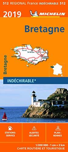 Carte Bretagne Michelin 2019 par Michelin