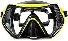Sportastisch Dive Under - Gafas de buceo con lentes de cristal templado antivaho para una visión nítida, goma extra ancha para una comodidad máxima y un ajuste perfecto, 100 % impermeables, diseño exclusivo, también son aptas para niños y jóvenes, am