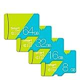 Memory Card, SD Card 4K Video Premium Ultra-HD Scheda di Memoria Ad Alta velocità Class 10 Ad Alta velocità Micro SD Fino A 80 MB/S per Dash Cam/Camera/Endoscopio Industriale,16GB