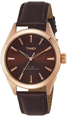 Timex Analog Brown Dial Men's Watch - TW000Y903